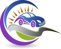 Samochodowy logo Zdjęcie Stock