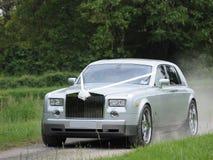samochodowy luksusowy ślub Fotografia Royalty Free