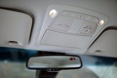Samochodowy lustro zdjęcie stock