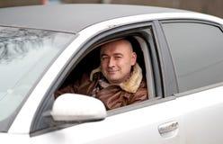 samochodowy mężczyzna Fotografia Stock