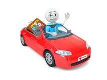 samochodowy mężczyzna Zdjęcia Stock