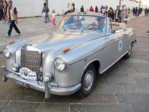 samochodowy Mercedes bawi się rocznika Zdjęcie Royalty Free