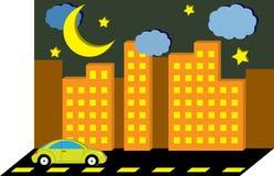 samochodowy miasto Zdjęcia Stock