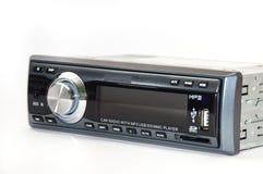 Samochodowy mp3 radia gracz zdjęcie royalty free