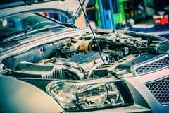Samochodowy naprawianie obrazy royalty free