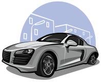 samochodowy nowożytny sport Obraz Royalty Free