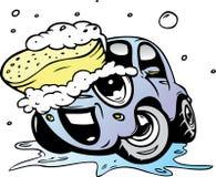 samochodowy obmycie ilustracji