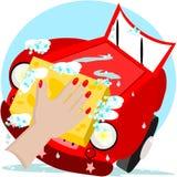 Samochodowy obmycie Obraz Royalty Free