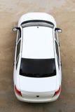 Samochodowy odgórny widok Zdjęcie Stock