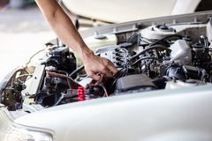 Samochodowy płuczkowy cleaning Obraz Stock
