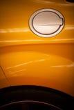 Samochodowy paliwowy cysternowy dekiel zdjęcia royalty free