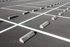 Samochodowy parking Obrazy Stock