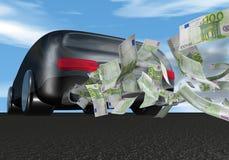 samochodowy pieniądze Zdjęcie Stock
