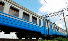 samochodowy pociąg pasażerski Fotografia Royalty Free
