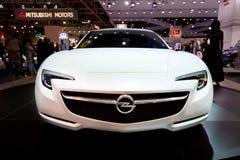 samochodowy pojęcia opel sporta biel zdjęcia royalty free