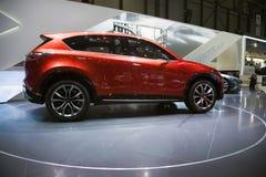 samochodowy pojęcia skrzyżowania Mazda minagi Zdjęcia Stock