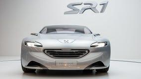 samochodowy pojęcie Peugeot sr1 zdjęcie royalty free