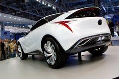 samochodowy pojęcia Mazda biel Obrazy Stock