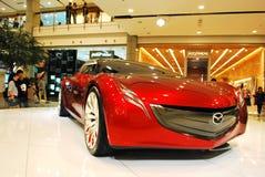 samochodowy pojęcia Mazda ryuga Fotografia Royalty Free