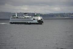 Samochodowy prom blisko Seattle Fotografia Royalty Free