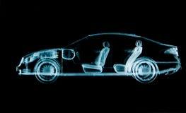 Samochodowy promieniowanie rentgenowskie Fotografia Royalty Free