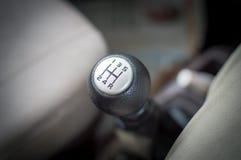 Samochodowy przekładnia przesuwak fotografia stock