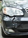 Samochodowy przyduszenie wypadek obraz stock