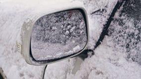 Samochodowy rearview lustro w lodzie