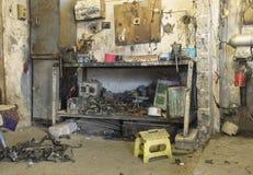 Samochodowy remontowy sklep w Irak sklepie w Irak obraz stock
