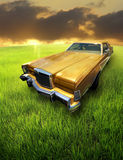 samochodowy rocznik fotografia royalty free