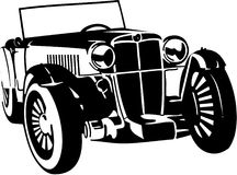 samochodowy rocznik ilustracja wektor