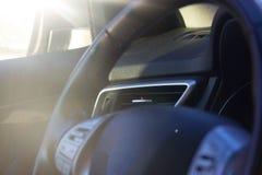 Samochodowy rudder zakończenie up Obraz Royalty Free