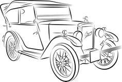 samochodowy rysunek Fotografia Stock