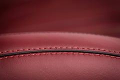 Samochodowy rzemienny siedzenie zdjęcie royalty free