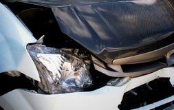 samochodowy samochodów karambolu trzask wielki autostrada zamrażającą prędkość Obraz Stock