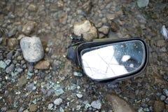 samochodowy samochodów karambolu trzask wielki autostrada zamrażającą prędkość Zdjęcia Stock