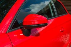 Samochodowy Skrzydłowy lustro Obraz Royalty Free