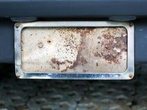 samochodowy stary półkowy ośniedziały Zdjęcie Stock