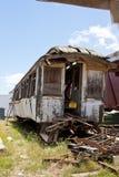 samochodowy stary pociąg pasażerski Zdjęcia Royalty Free