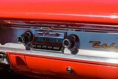 samochodowy stary radio obrazy royalty free