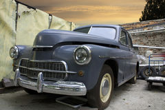 samochodowy stary retro Obrazy Stock