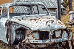 samochodowy stary rujnuj?cy obraz royalty free