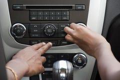 samochodowy stereo zdjęcie royalty free