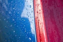 Samochodowy szczegół z kroplami Zdjęcie Royalty Free