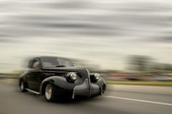 samochodowy szybki poruszający rocznik Obrazy Stock