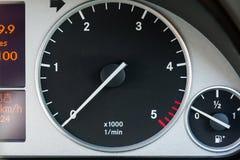 Samochodowy tachometr Zdjęcie Stock