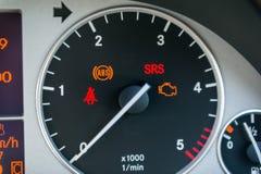 Samochodowy tachometr Obrazy Stock