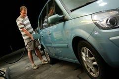 samochodowy tanking Zdjęcie Royalty Free