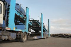 Samochodowy transporter obraz stock
