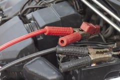 Samochodowy utrzymanie ładować baterię fotografia stock
